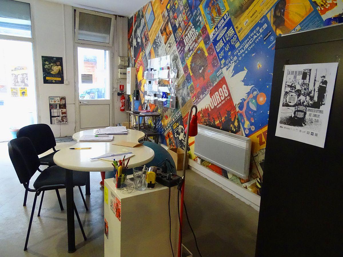 Nos locaux pôle info Musique Marseille